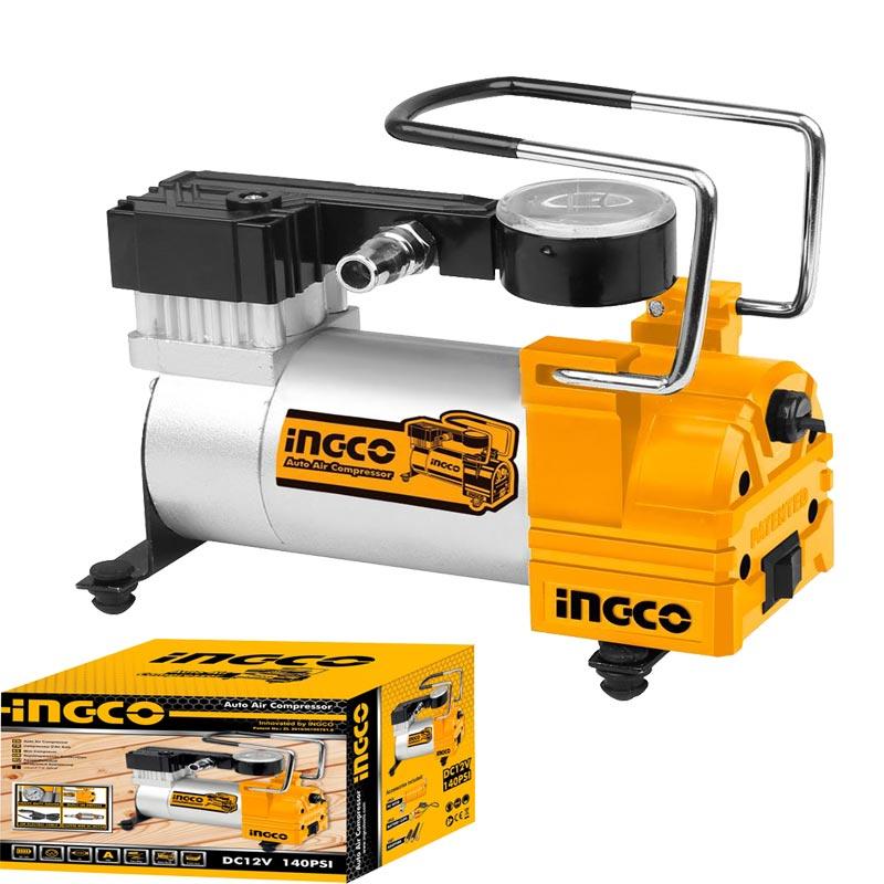 Mini Compresseur d'air automatique 12 V INGCO - AAC1401