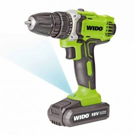 Perceuse-Visseuse double batteries Li- lion 18V WIDO- WD040230180