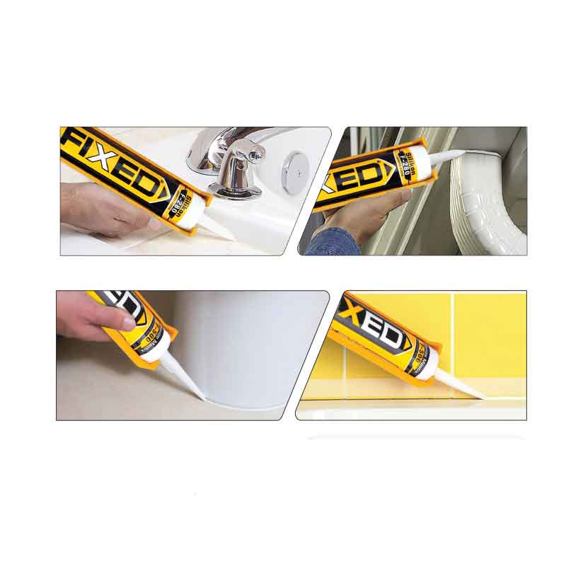 Silicone Acrylique Blanc SGS-Fixed F-500 500G