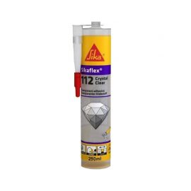 Mastic colle multi-usage SIKA Sikaflex Crystal Clear- 300ml