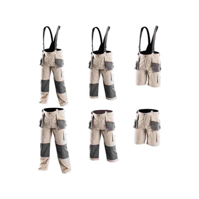 Pantalon de travail à bretelles