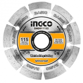 Disque Diamant 115 mm INGCO – DMD011152