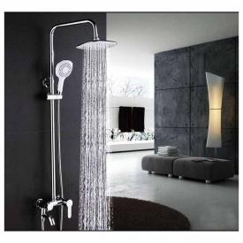 Ensemble de douche carré ABS avec mélangeur LY-818/S