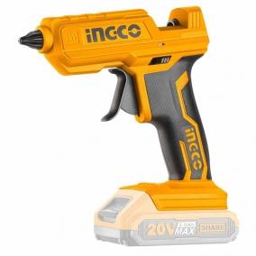 Pistolet à colle Chaud 20V LI-ION INGCO- CGGLI2001