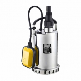 Pompe Vide-Cave 900W en Acier Inoxydable pour eau propre RTM819 RTRMAX
